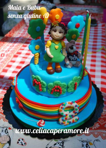 un compleanno senza glutine: la torta dei 2 anni!