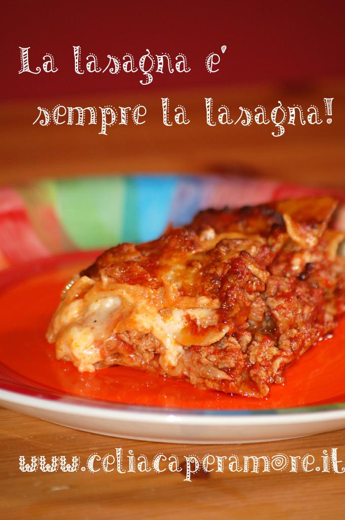 la domenica è più domenica: la lasagna (quasi) classica in 45 minuti