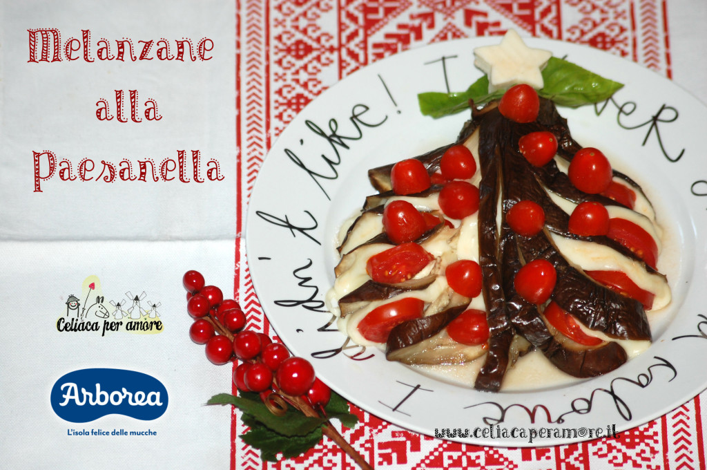 christmas is in the air! melanzane alla paesanella (versione natalizia)