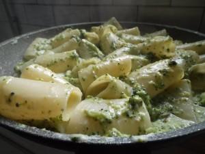 Paccheri con broccoletti e duetto di Chiara Tiozzi