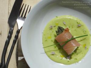 Pacchero con tonno e asparagi al profumo di Lime di A Spasso per Ingredienti