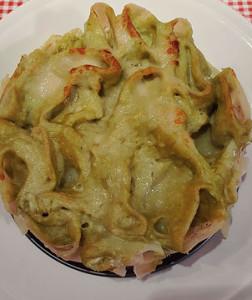 Tortino di paccheri ripieni con besciamella di asparagi di #semagna