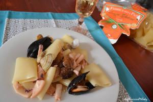 Paccheri ai sapori di mare di Chef De Cuisine Melody
